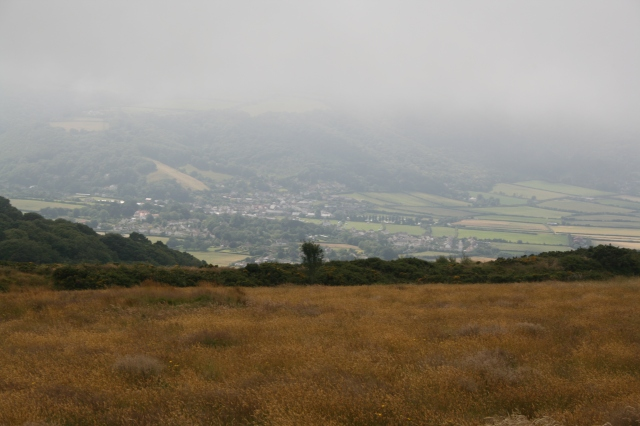 Misty view over Porlock